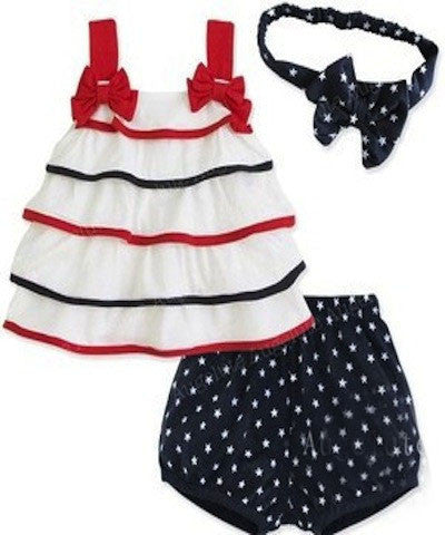 Ruffles and Bows short Set