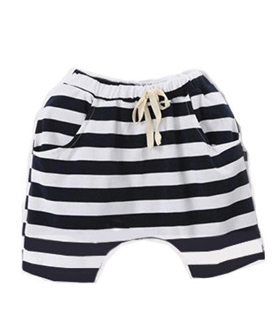 Navy and White Stripe It Easy Harems