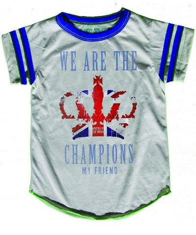Rowdy Sprouts Queen We Are The Champions Tee