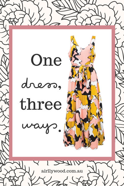 One Dress Three Ways: Styling a Bohemian Maxi Dress for an Australian Spring