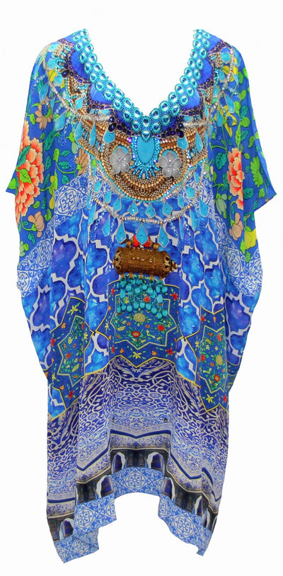Why kaftans are your best friend for summer living and tropical holidays