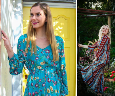 Your Dream Wardrobe Solution: the Bohemian Wrap Dress