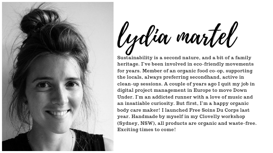 Author Bio, Lydia Martel, What is Zero Waste