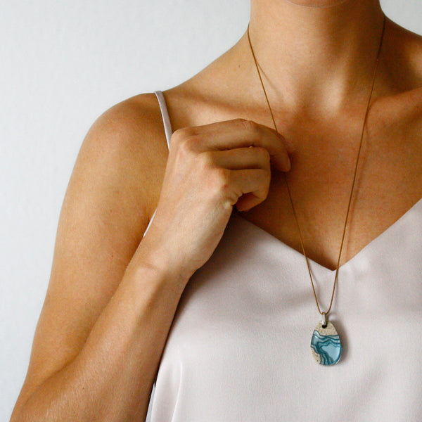 Airllywood - Airllywood, BoldB Cove Necklace - Aqua, Necklace