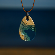 BoldB Cove Necklace - Aqua