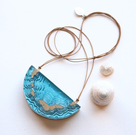 BoldB Archipelago Necklace - Ultramarine