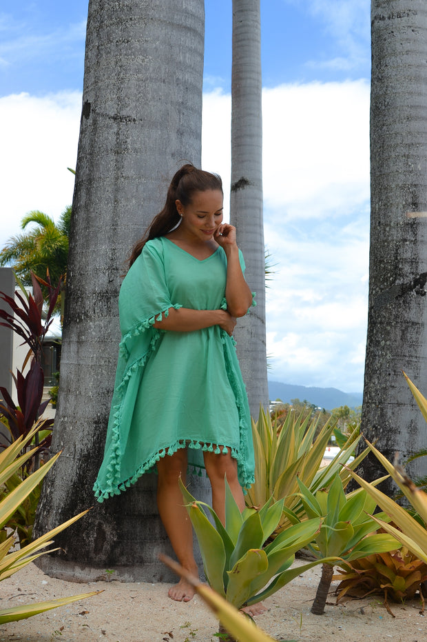 Beach Essentials Kaftan - Jade