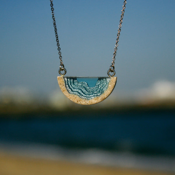 BoldB Inlet Necklace - Aqua