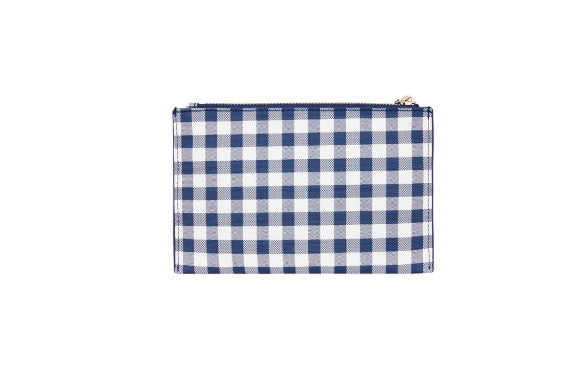Airllywood - Airllywood, New York Coin Purse - Navy Gingham, Purse