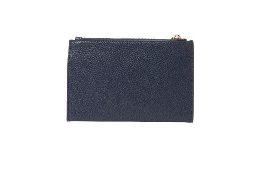 New York Coin Purse - French Navy