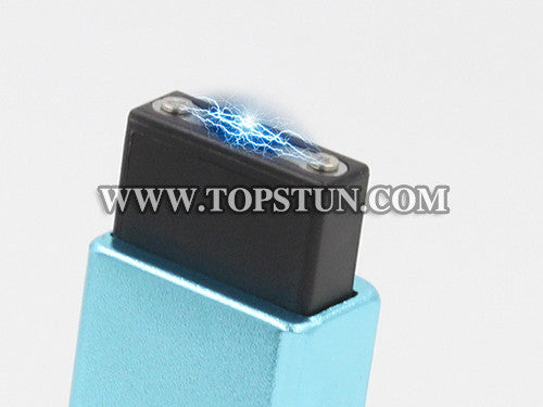 Mini Stun Gun 1502 Blue - 15 Million Volts Key Chainable LED Flashlight Rechargeable