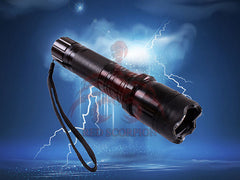 Wholesale Lot Metal Stun Gun 1101 - 28 Million Volts Rechargeable LED Flashlight