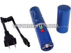 Wholesale Lot Mini Stun Gun 328 - 15 Million Volts Lipstick Flashlight Rechargeable
