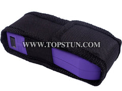 Mini Stun Gun 398 Purple - 17 Million Volts LED Flashlight Rechargeable