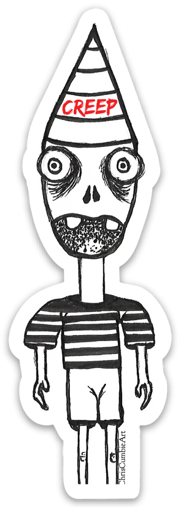 Creep Sticker