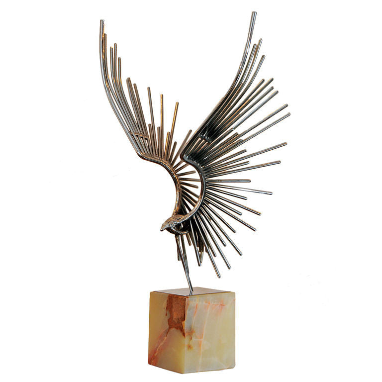 Curtis Jere Eagle Sculpture 1960