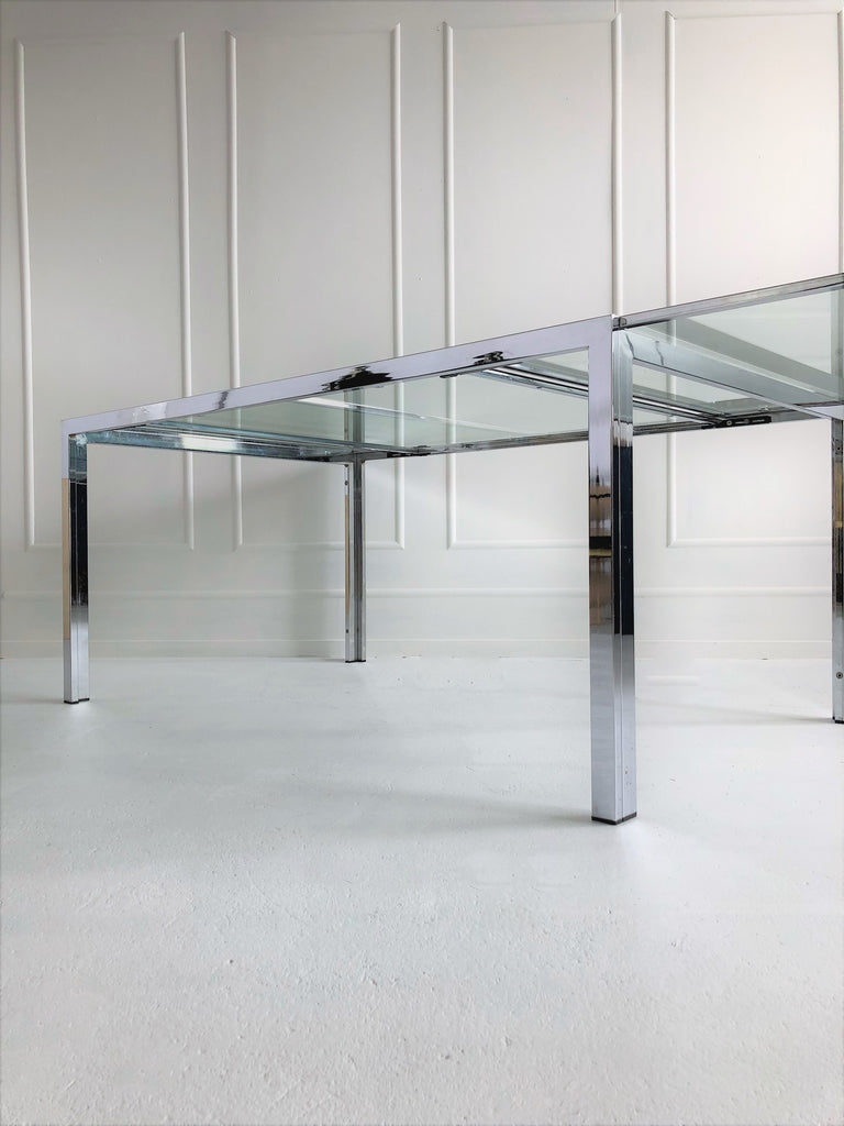 Milo Baughman Extendable Dining Table