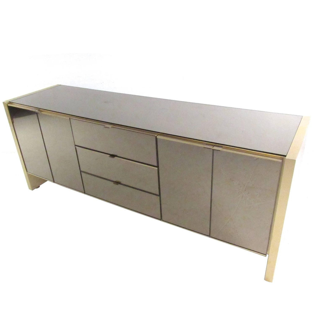 Exquisite Ello Mirrored Credenza