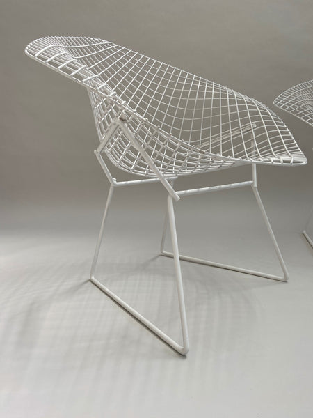 A pair of Harry Bertoia chairs