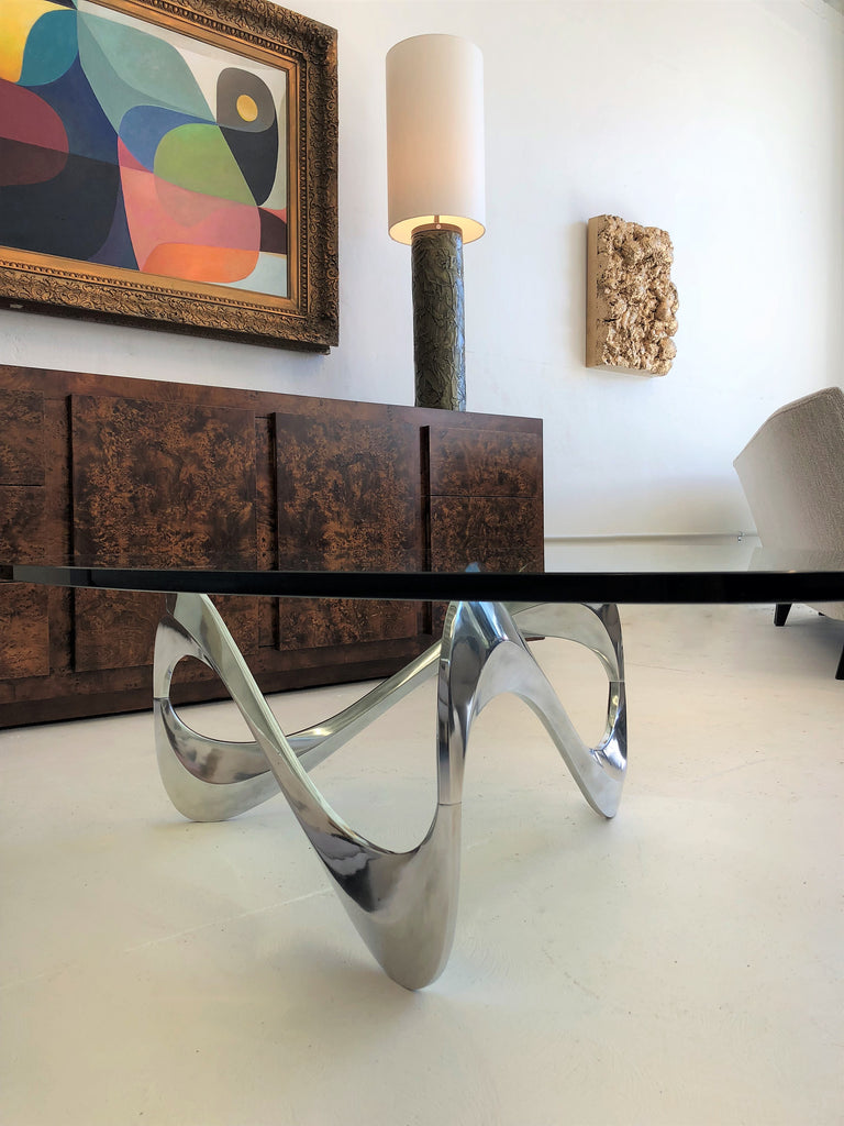 Knut Hesterberg 'Snake' Cocktail Table for Ronald Schmitt 1965