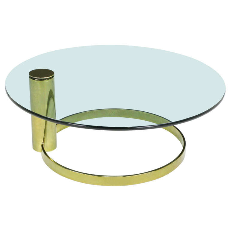 Leon Rosen For Pace Collection Coffee Table Mid Century Swag