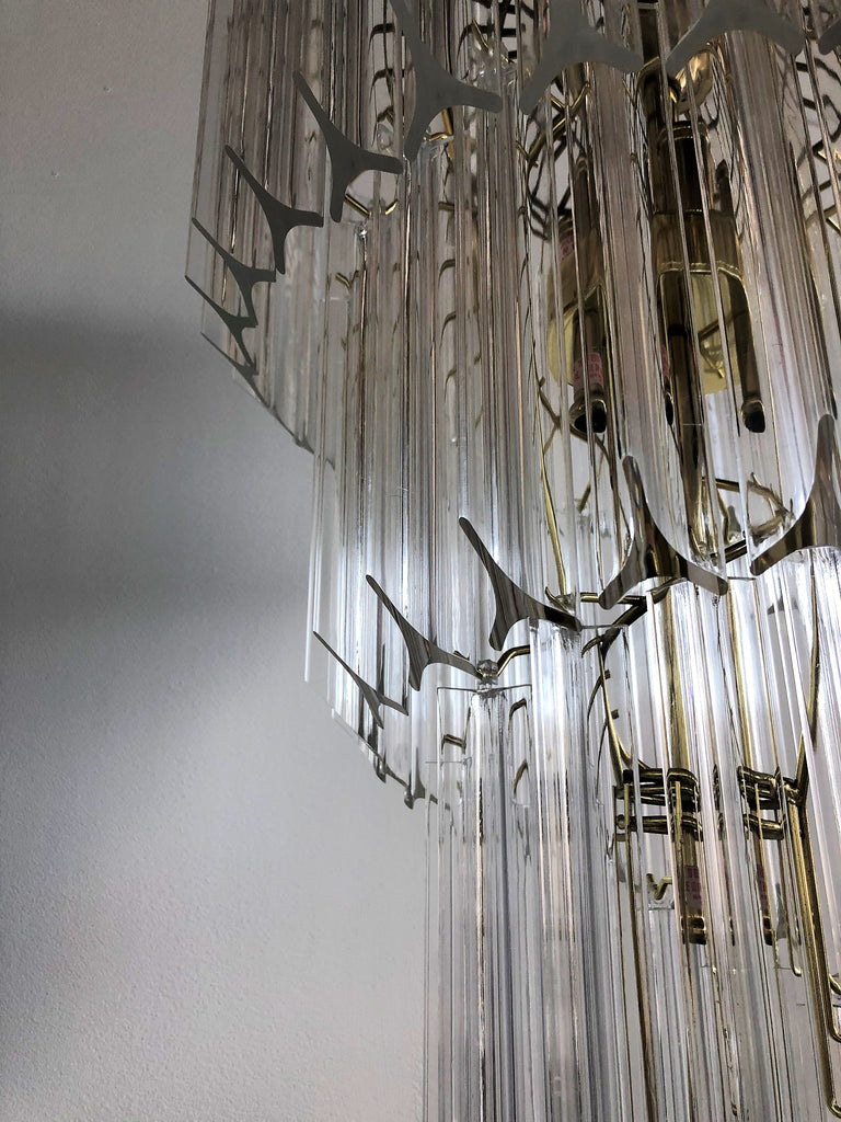 Waterfall Spiral Chandelier