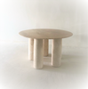 Rare II Colonnato Dining Table by Mario Bellini