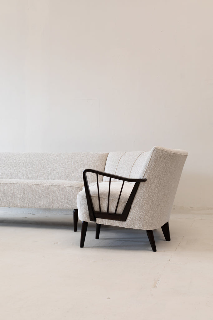 SOLD 1960's Bergmann Sofa