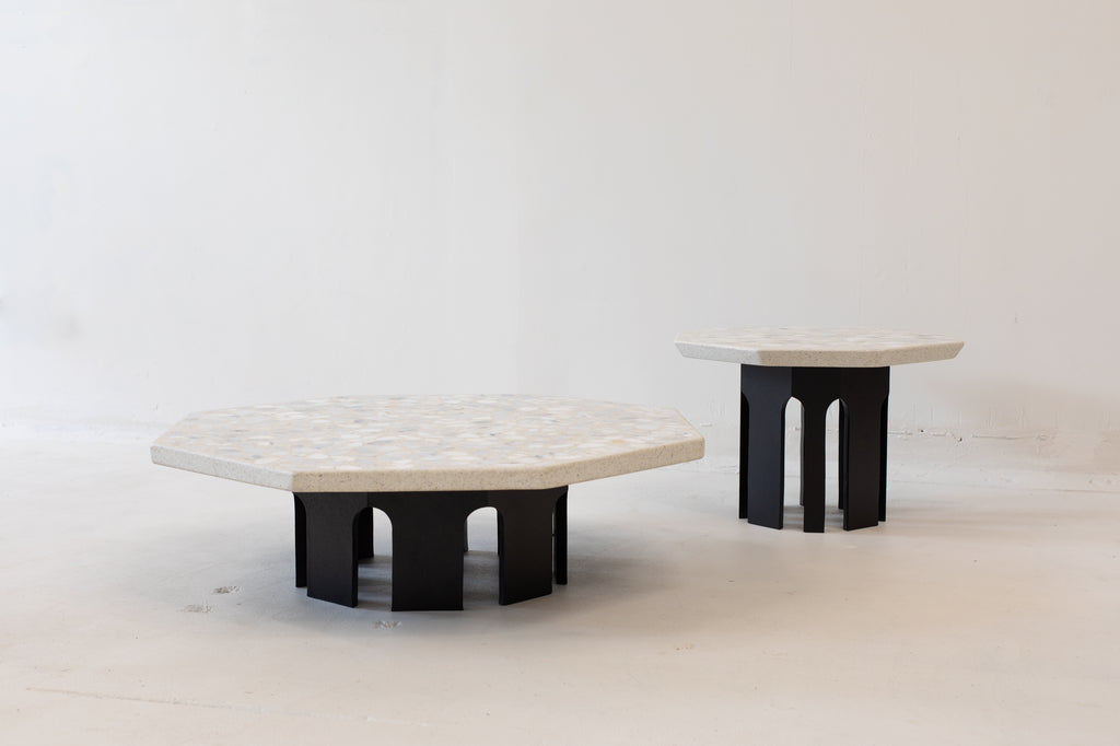 Set of Three Harvey Probber Terrazzo tables