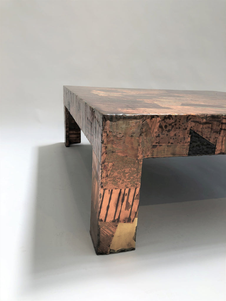 Brutalist Table by Percival Lafer (Brazil)