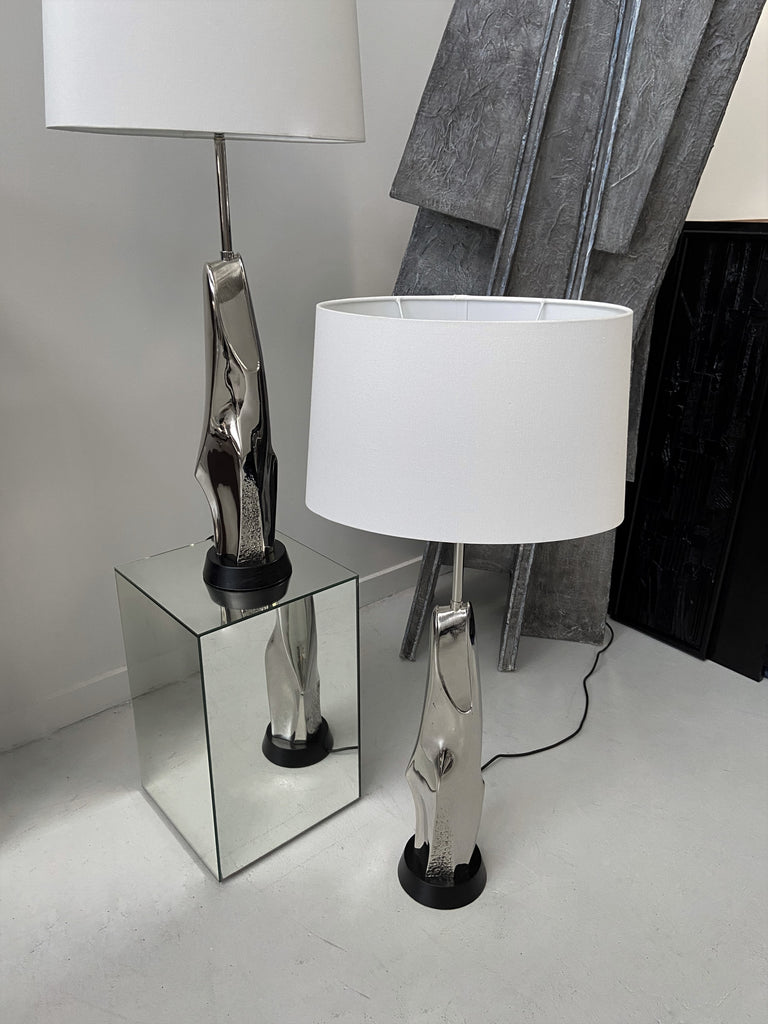 Pair of Maurizio Tempestini Lamps for Laurel