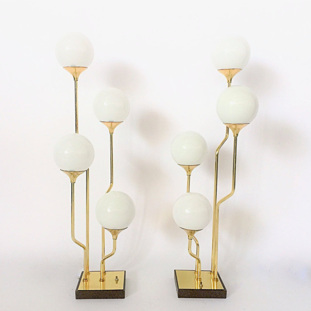 Vintage Italian 'Reggiani' Table Lamps