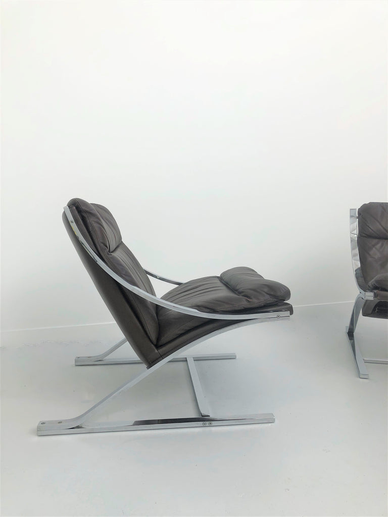 Paul Tuttle Zeta Arm Chairs