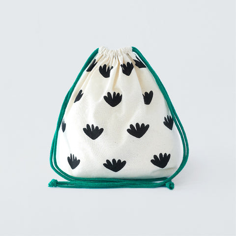 Mini Drawstring Bags ( Land & Stars )