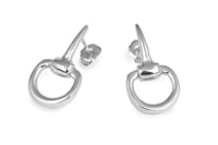 Snaffle Bit Stud Earrings