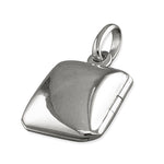 Plain Silver Locket
