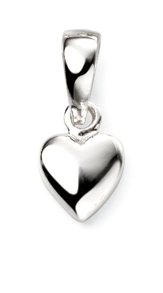 Small Silver Heart Pendant
