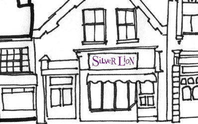 Silver Lion Shop Drawing
