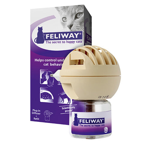 Feliway Diffuser, with 48ml Vial