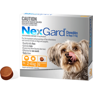 Nexgard Dog, Very Small