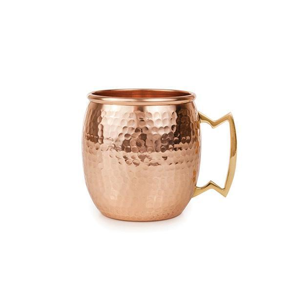 1 Copper Bottle and 4 Copper Mugs - YesNo