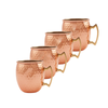 4 Copper Mugs