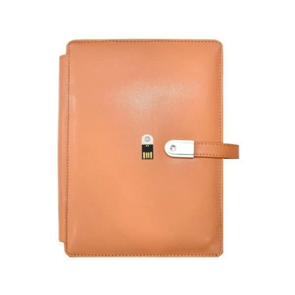 5000 mAh Powerbank Diary with Mobile Holder and 16 GB Pendrive - YesNo