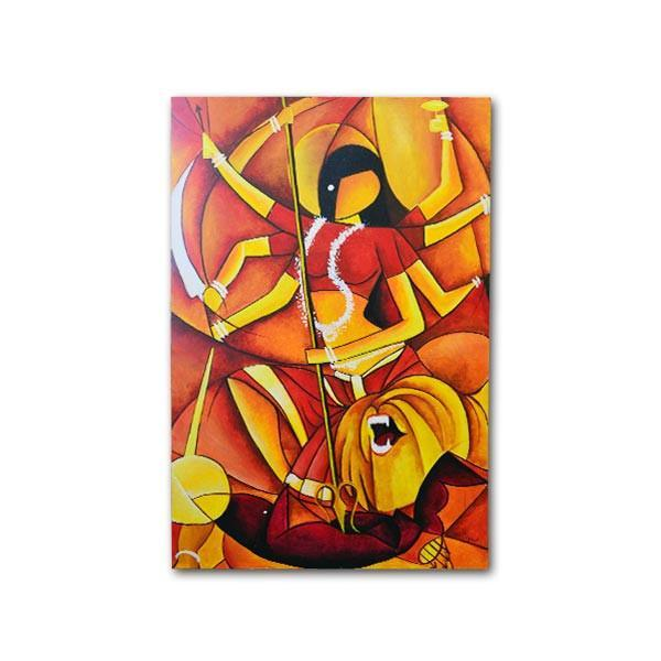 Abstract Durga Painting - YesNo
