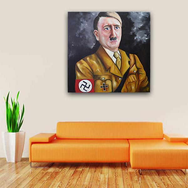 Adolf Hitler Painting - YesNo