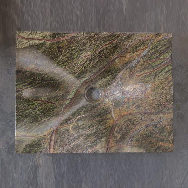 Bhutani Green Marble Wash Basin