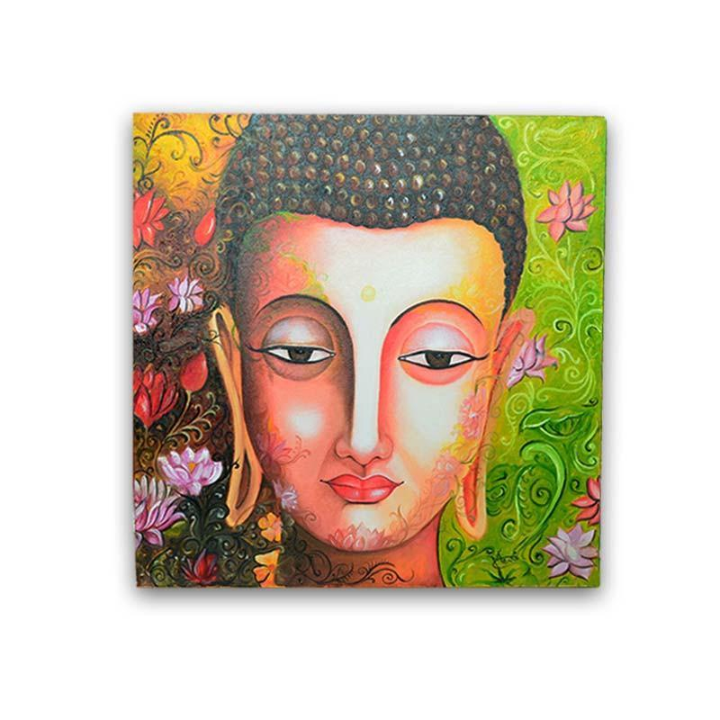 Enlightening Buddha Painting