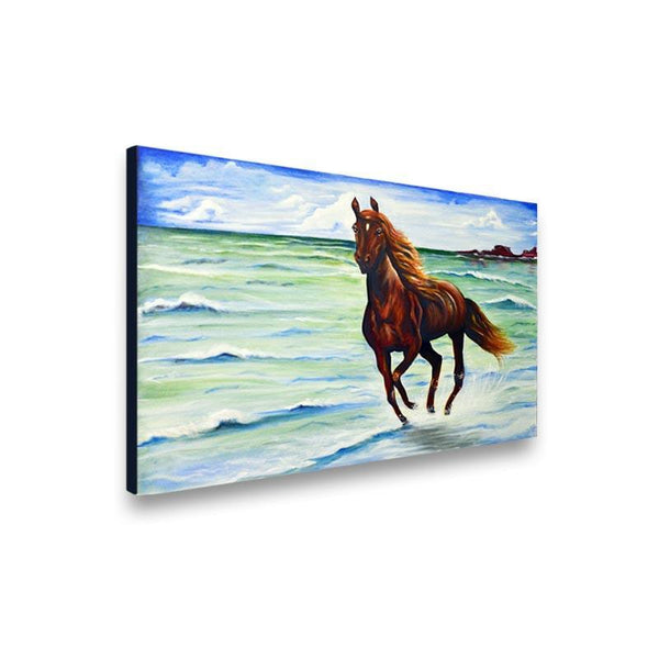 Free Stallion Painting - YesNo