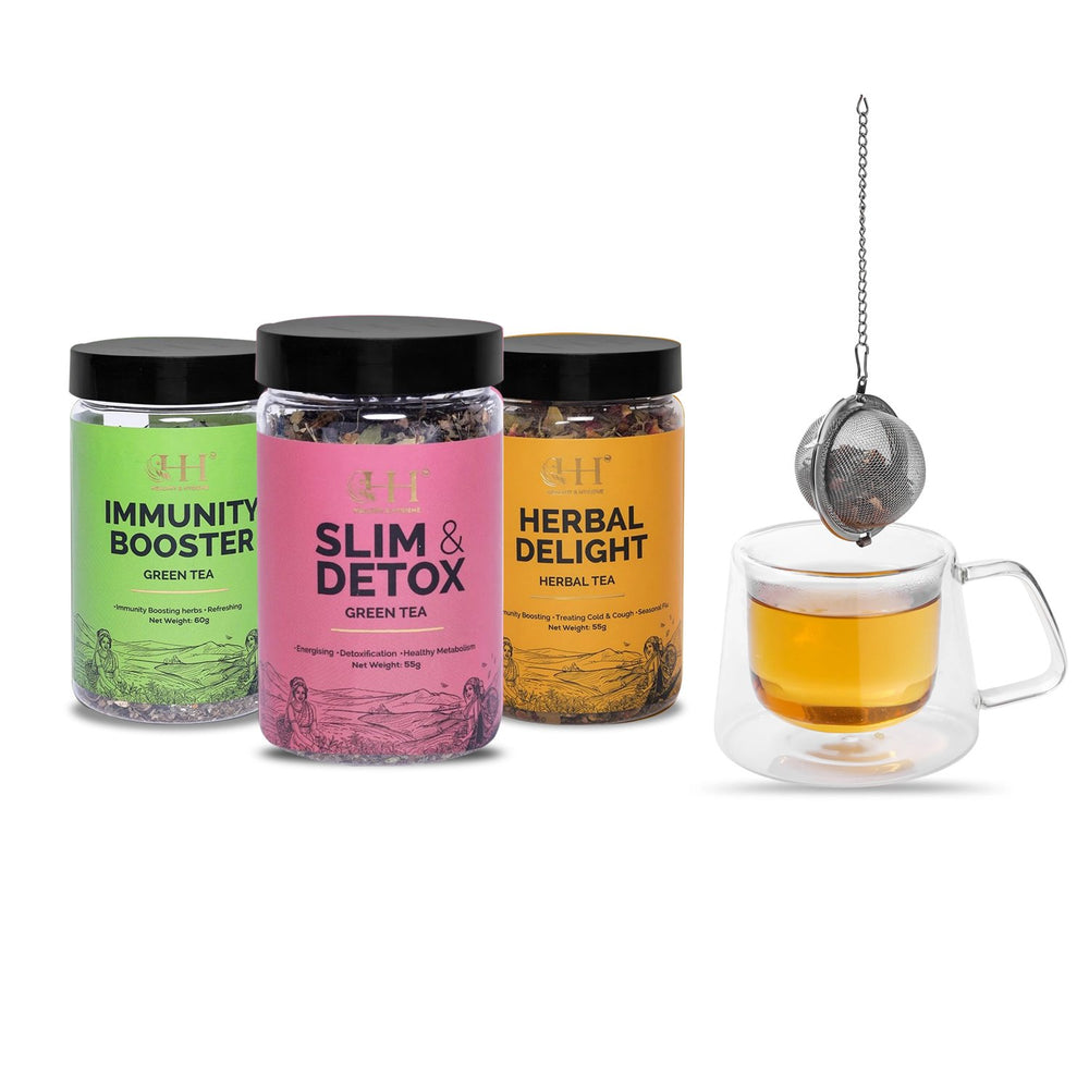 Green Tea Combo with Tea Infuser