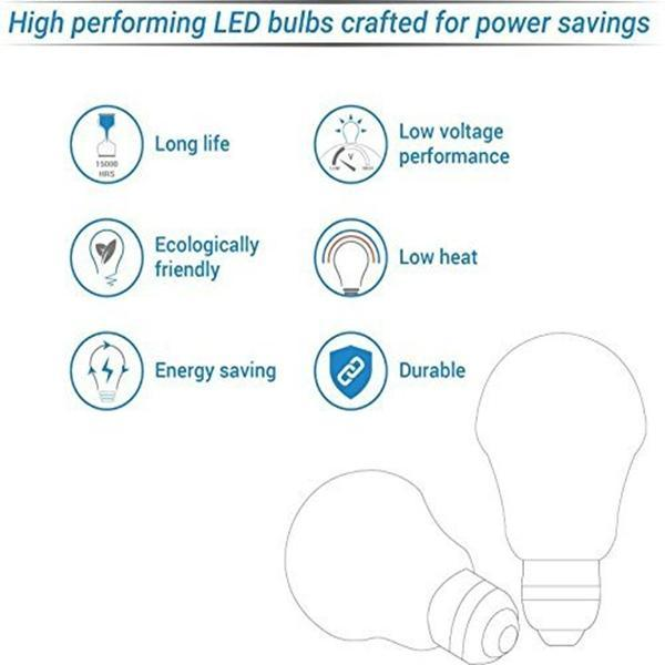 Inverter Bulb 9 / 12 Watt Rechargeable Emergency LED Bulb, Cool White, Base B22 - YesNo